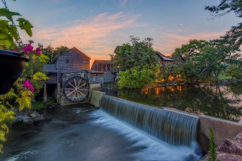 The Old Mill Near Willow Brook Lodge