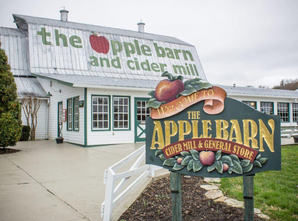 Apple Barn near Willow Brook Lodge