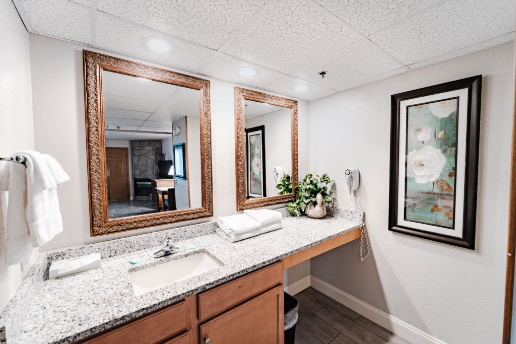 Two-Bedroom River Family Suite Guest Bathroom
